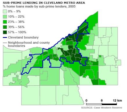 cleveland subprimes loans