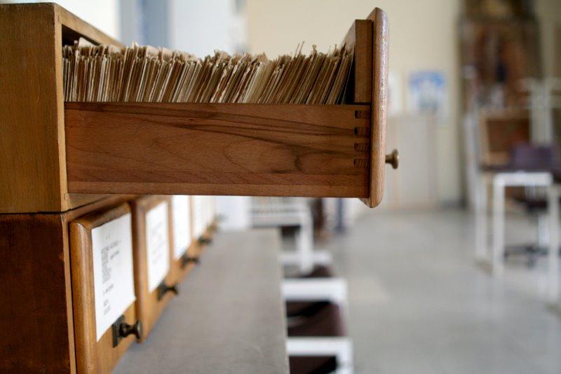 archives bibliothèque